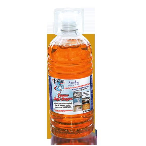 AKTIV PLUS POWER ANTI-FUNGUS Desinfectante Super concentrado 3 Litros
