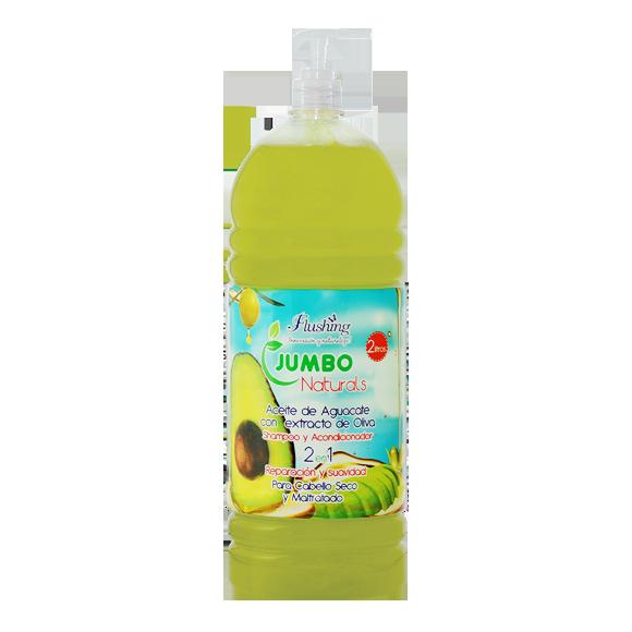 JUMBO NATURALS Shampoo Aguacate/Oliva 2 litros