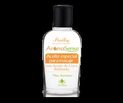 AromaSense- Aceite Especial para Masaje con Aceite de Coco Refinado 120 mL Flushing