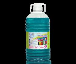 AKTIV PLUS-BRILLO SOL COLOR. Detergente liquido 3 litros.