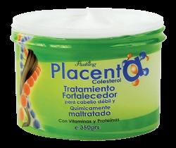 PLACENTA - Colesterol Tratamiento Capilar 350grs