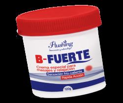 B-FUERTE - Crema especial para masajes y calentamiento