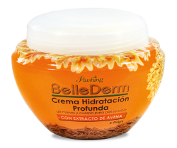 BELLE DERM-Crema Extracto de Avena 450 g