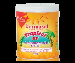 DERMASOL. Crema Tropical UV. 1 kilo