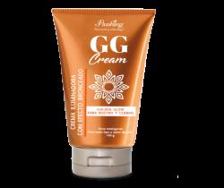 GG CREAM – Crema iluminadora con efecto bronceado 150 g Flushing
