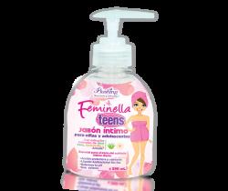 FEMINELLA TEENS - Jabón íntimo para niñas y adolescentes