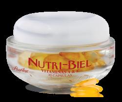 NUTRI BIEL - Vit. A y E Capsula para uso facial 30 capsulas